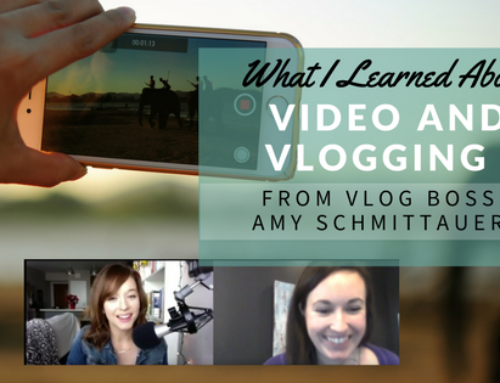 What I Learned About Video and Vlogging from Vlog Boss Amy Schmittauer
