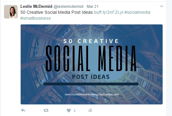 creatively re-share your own content on social media
