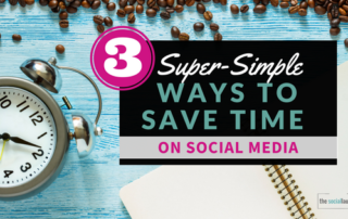 super simple ways to save time on social media