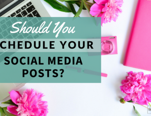 Should You Schedule Your Social Media Posts?