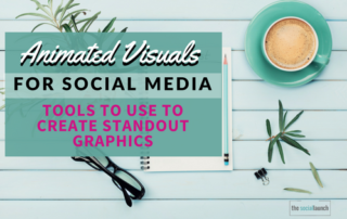 animated visuals for social media