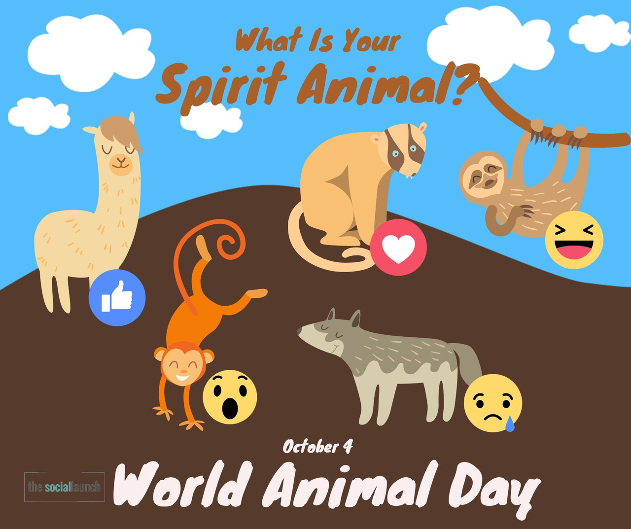 social media post increase engagement animal day
