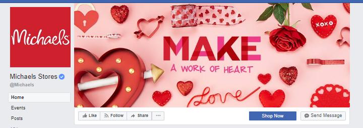 creative facebook cover image michaels